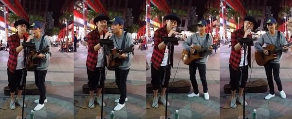 林俊杰曾在街头与流浪歌手合唱 引网友叫绝