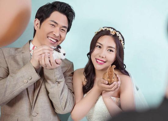 纪敏佳刚结婚就宣布怀孕 称:真是想什么来什么