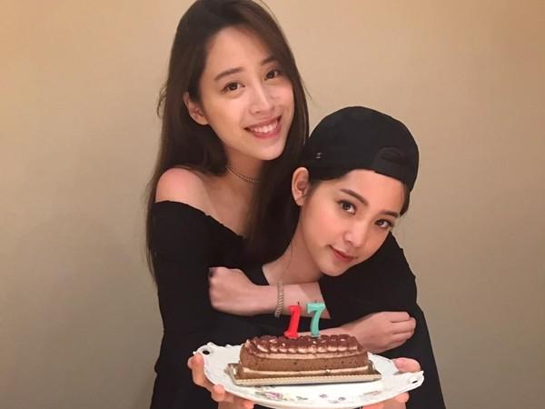 欧阳妮妮为妹妹庆生:感谢妈妈17年前生下你