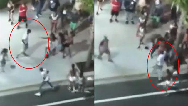 美国南卡发生枪击案 楼上群众直播了全过程