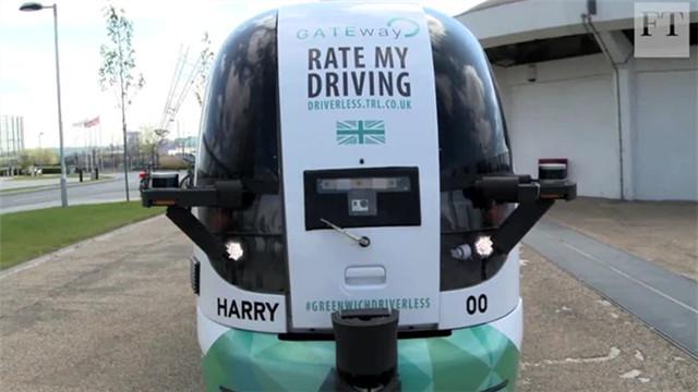 自动驾驶公交车上路实测 你敢坐吗?