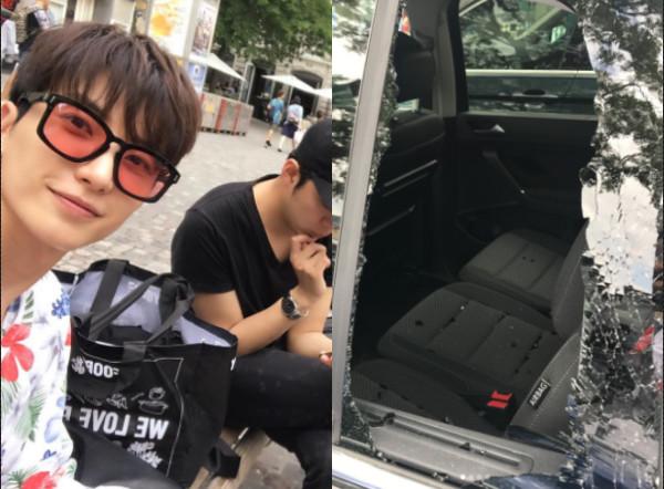 Super Junior利特瑞士遭遇抢劫 发文:想赶快回国