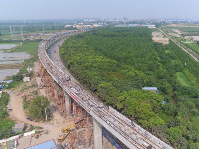 地铁阳逻线有望年底开通 通车后将成武汉最快地铁线