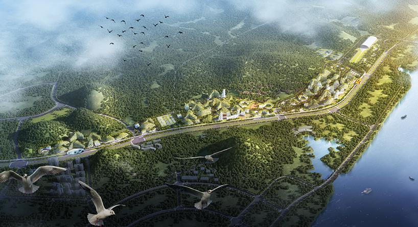 """中国将建世界首座""""森林城"""" 所有房子都被植物覆盖 - 子泳 - 子泳WZ的博客"""