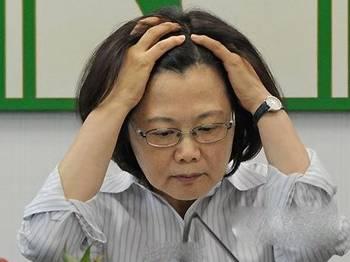 """台""""宫庙减香""""或引发大游行 蔡英文:政府会被害死"""