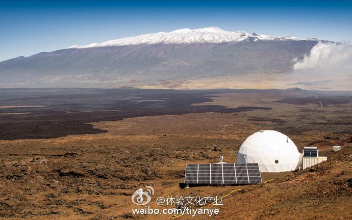 中国首个火星模拟基地落地青海:地貌与火星相似