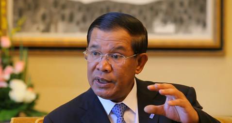 柬埔寨首相称老挝士兵越境