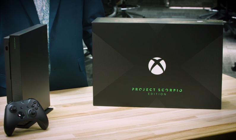 微软发布限量版Xbox One X游戏机 11月7日上市