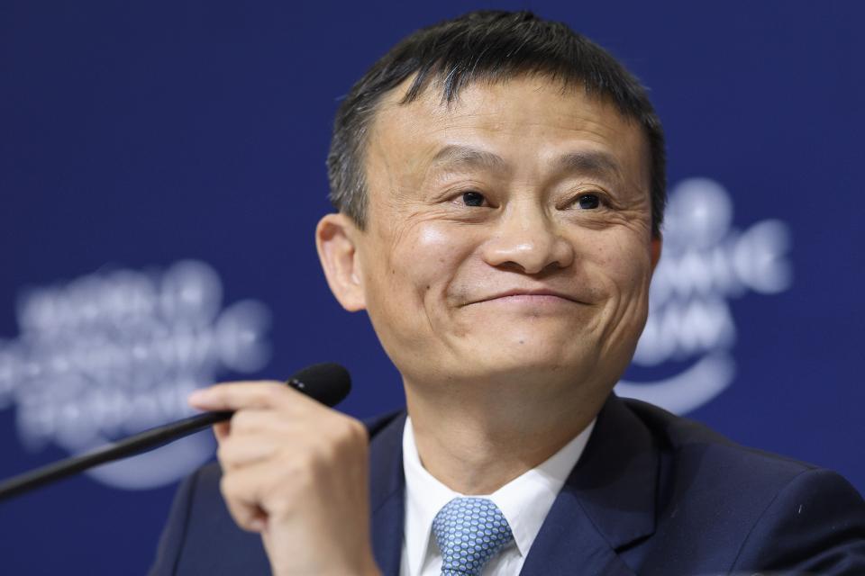 马云个人财富一天涨13亿美元 领先马化腾15亿美元