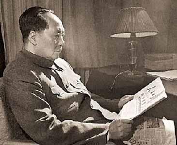 毛泽东拿着一份怎样的电报陷入昏迷直至逝世未醒