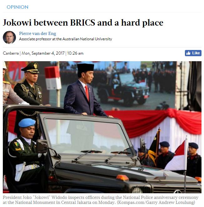学者:收到邀请的印尼,为何没来参加金砖峰会?