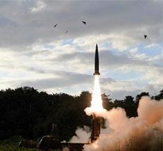韩国玄武导弹发射失败 升空数秒坠海