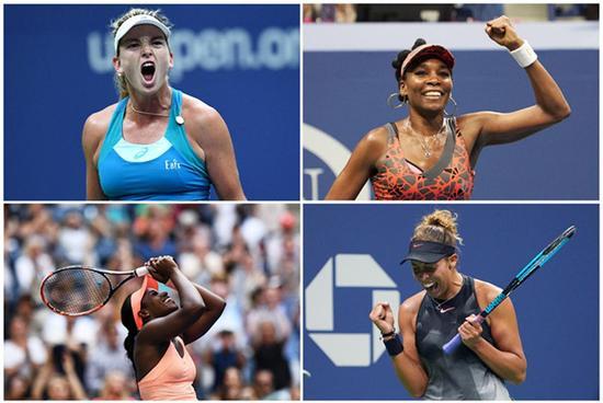 公开赛年代仅5非种子女选手夺大满贯 2017占两席