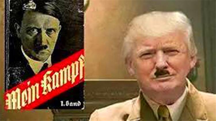 特朗普炮轰四国遭反击:新希特勒来了