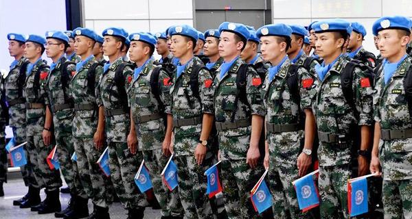 中国第八批赴南苏丹(瓦乌)维和部队出征