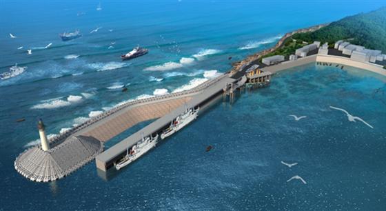 海事+客渡 1.7亿为大陈岛建个美丽码头!