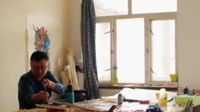 视频:潍坊风筝 最传统的中国风筝