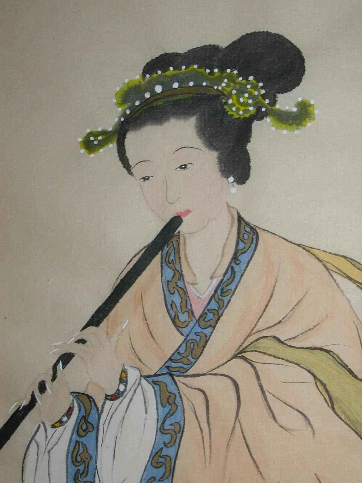 """明清文青的""""自拍"""":江南名妓自画像"""