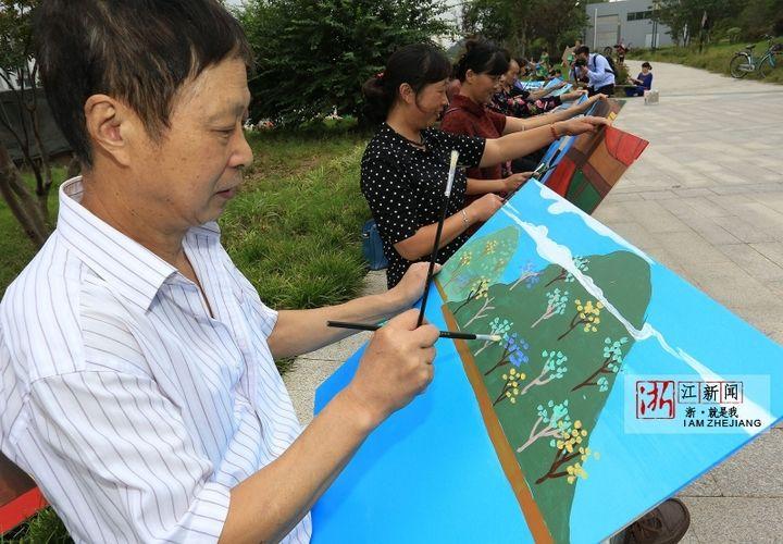 19米的长画! 镇海百位农民画家联手绘家乡