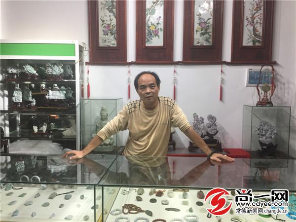 """国庆 """"黄金周""""常德古玩城游客扎堆 生意火爆"""