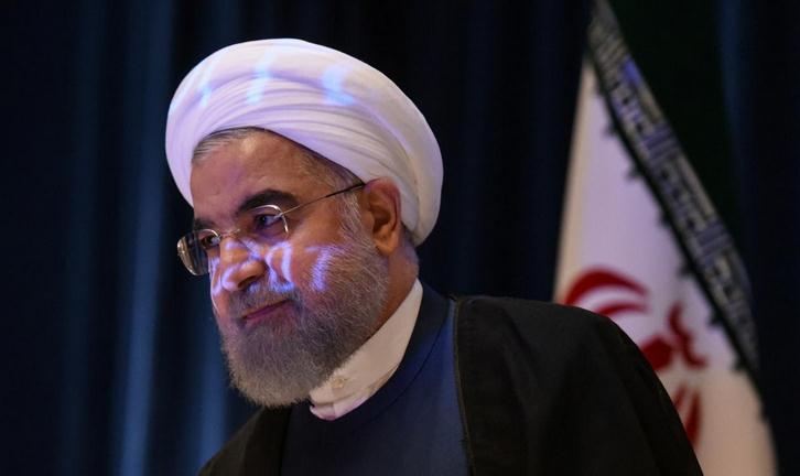 伊朗总统:10个特朗普也不能推翻伊核协议成果(图)