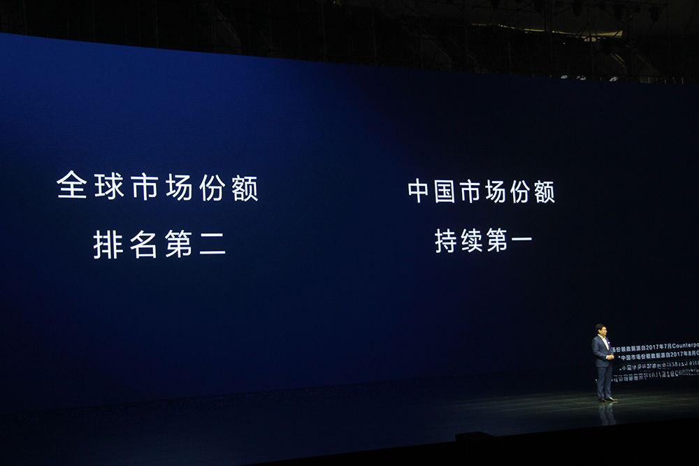 华为前三季度手机发货量1.12亿台 超苹果全球第二