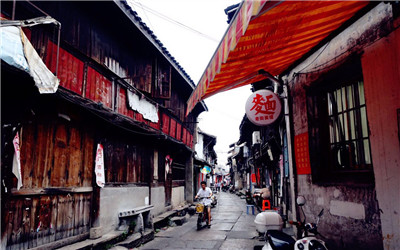 访古城遗迹 看水城新貌 摄影达人走近葭沚老街