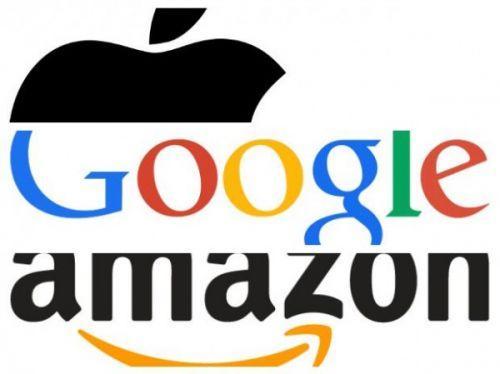 苹果谷歌亚马逊,哪家公司市值将首破万亿美元?