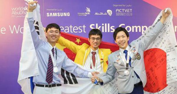 广东选手第44届世界技能大赛斩获5金4银6铜