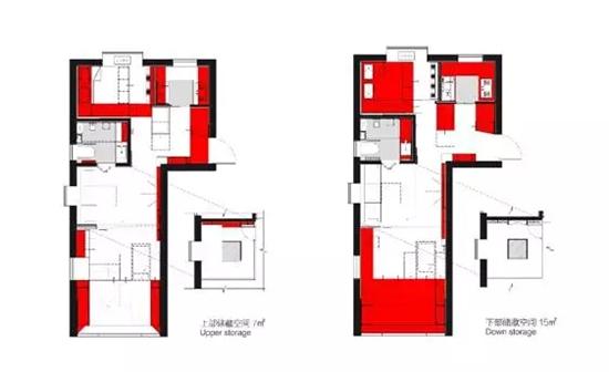 巧鉴景点爆改34㎡的家 小空间从此也能过得意趣盎然