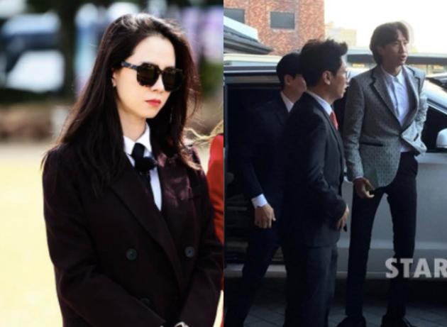 宋智孝缺席双宋婚礼 与《RM》成员抵金柱赫灵堂