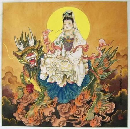 凤凰佛教) 我国佛教中的四大菩萨:文殊菩萨,观音菩萨,普贤菩萨,地藏