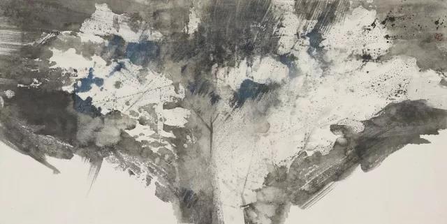 水墨空白图片素材