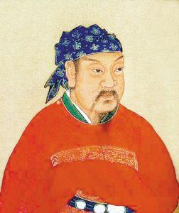 后世画的刘裕像