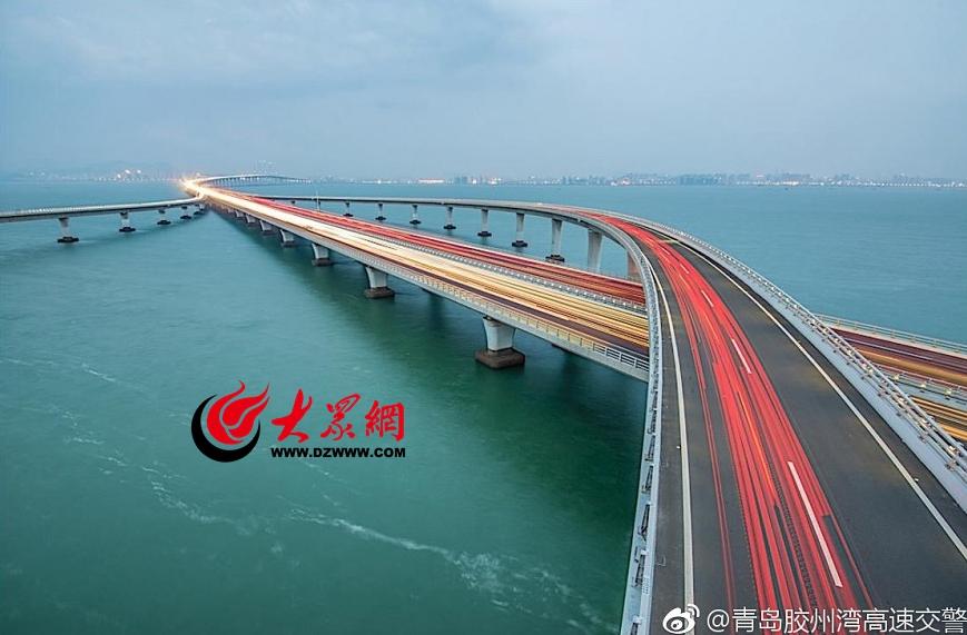 所有青岛人,青岛跨海大桥本周末封闭22小时