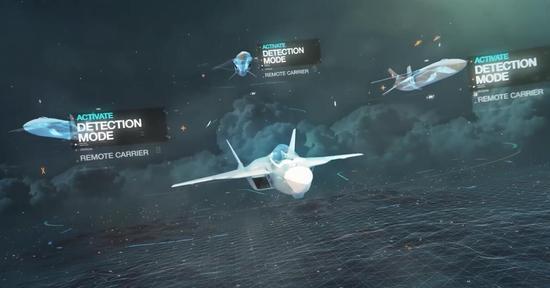欧洲山寨T50压制歼20 与无人机协同只为遮羞