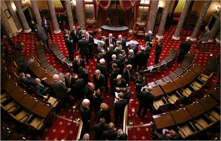 美参议院刚通过税改 但可能很快就土崩瓦解 (图)