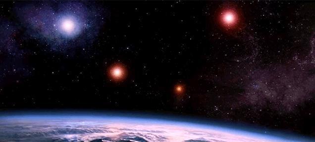 这也表示了,不用全宇宙,光我们自己的太阳系就存在外星人了,但是,最近