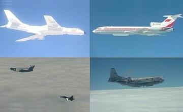 """解放军10架主力战机飞越岛链 台""""防长""""全程目送"""