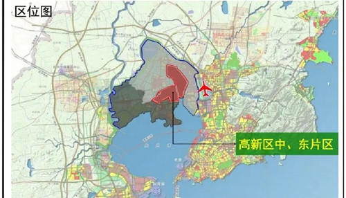 红岛九龙镇地图