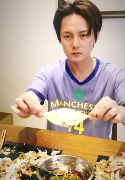 尹正陳赫自侃吃到橫店螃蟹滅絕 網友:你們會被趕走的