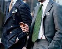 """""""领带配对了,西装身价至少翻10倍"""