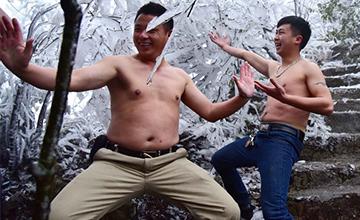 看见雪的广东人