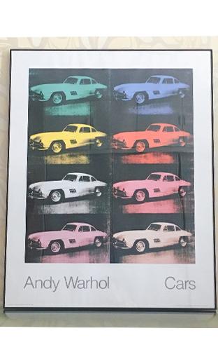 版画《Cars》