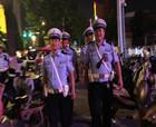 """商丘市公安局交警支队积极开展""""夜间常态巡逻""""活动"""