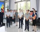 河南省委組織部到商丘市府前社區調研基層黨建工作