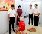 民盟中央社會服務部部長劉圣宇蒞臨商丘調研基層脫貧攻堅工作