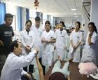 全國康復專家顧昭華來商丘市中醫院指導康復治療工作
