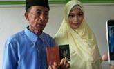 印尼56岁男子娶17岁少女,彩礼只花了一毛四