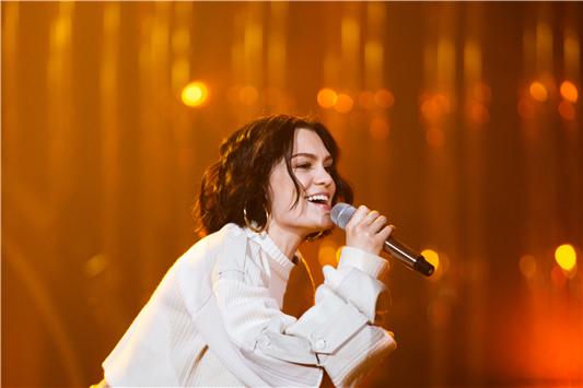 《歌手》曝光Jessie J9岁原创 吉杰:我90岁都写不出
